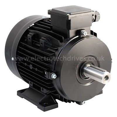 Teco Westinghouse Three 3 Phase Electric Motor 2800 Rpm