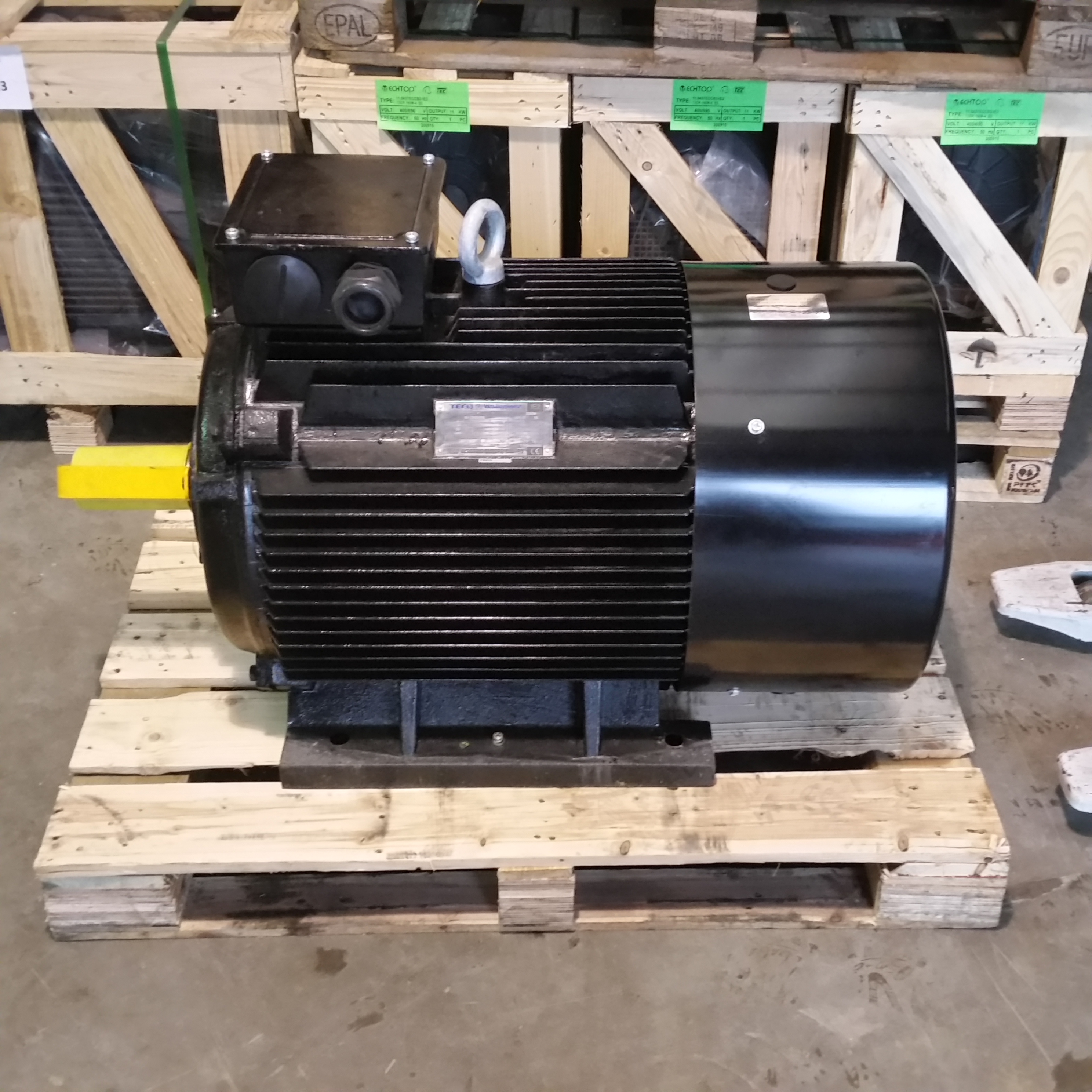 Teco Westinghouse 75kw Electric Motor 100hp 2970rpm 2 Pole