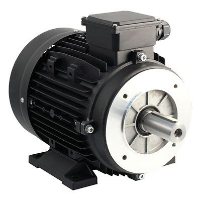 3kw single phase electric motor 3kw 4hp 1400rpm for Single phase motor drive