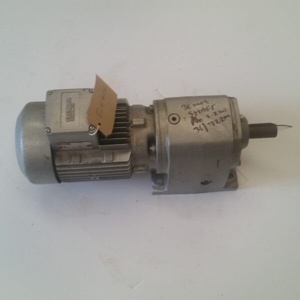Flender Gearbox D41 90sp4 2r With 2 Speed Motor 30mm