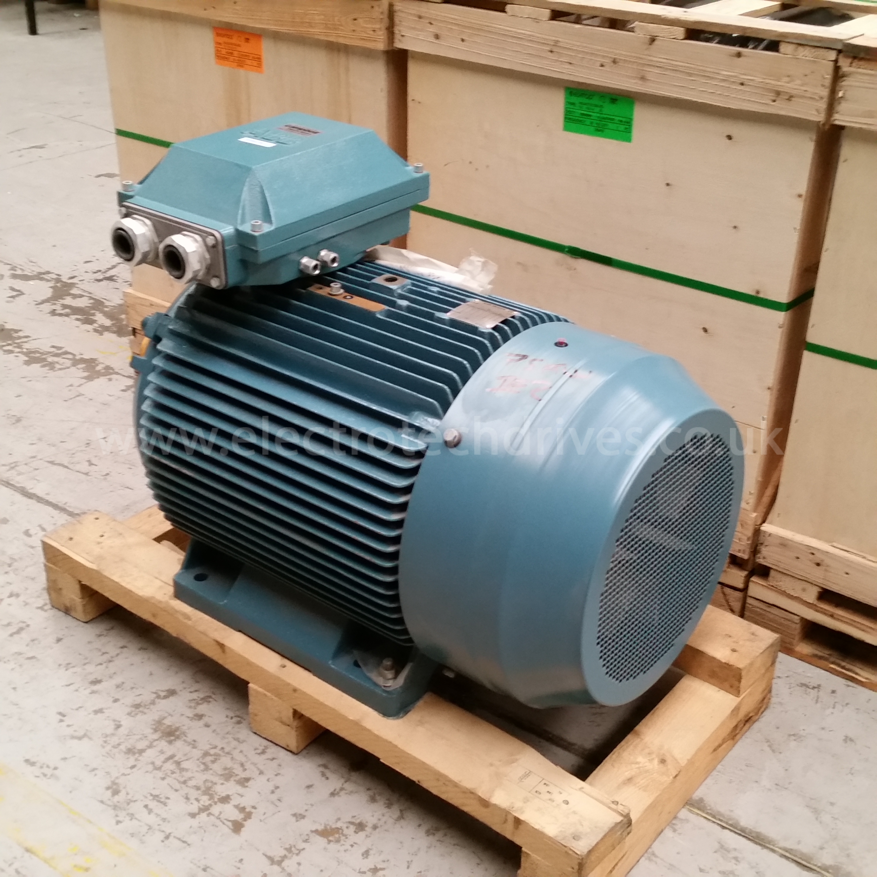 Abb Electric Motor 75kw 100hp 1500rpm Premium Ie2 High