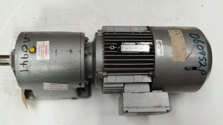 Sew eurodrive gearbox r60dt90l4bmghf 1 5kw brake motor for Add electric motor to drive shaft