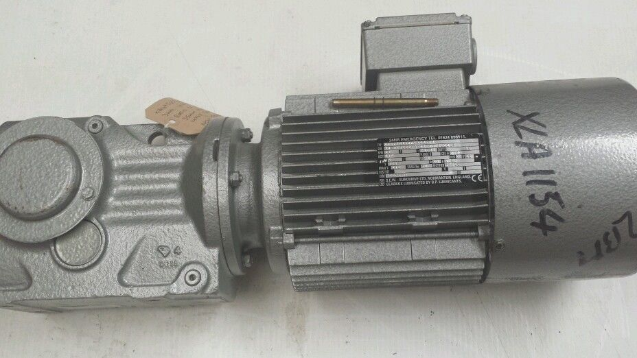 Sew eurodrive gearbox brake motor 3kw 64rpm 3 phase 415v for Sew motors and drives
