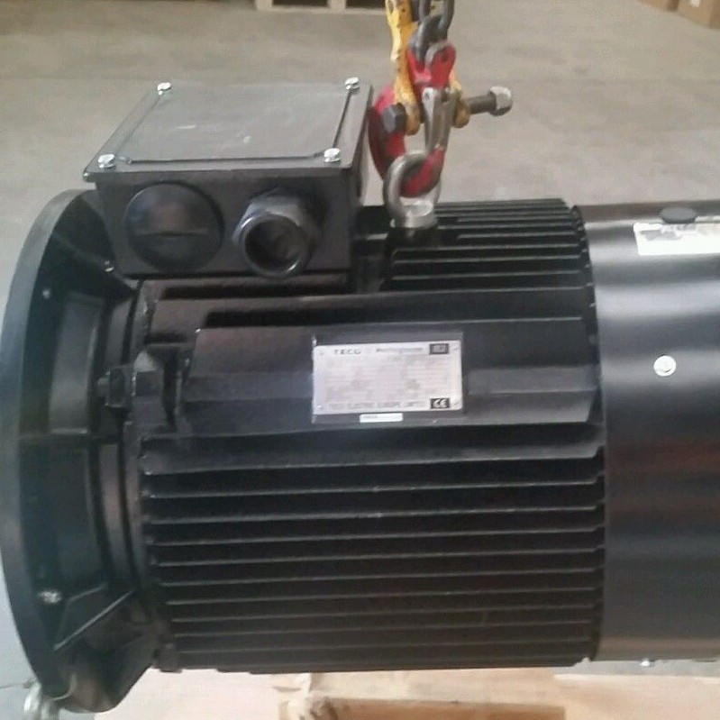 Teco Westinghouse 55kw Electric Motor 75hp 1500rpm 4 Pole