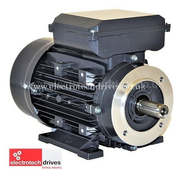3 7Kw Single Phase Electric Motor - 240 Volt 5HP 2800RPM - High Torque  Capacitor Start/Run