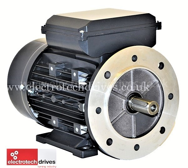 IE Motor 71 Frame 0.18kW to 0.37 kW Single Phase B3 B5 B14 B35 B34 Mount