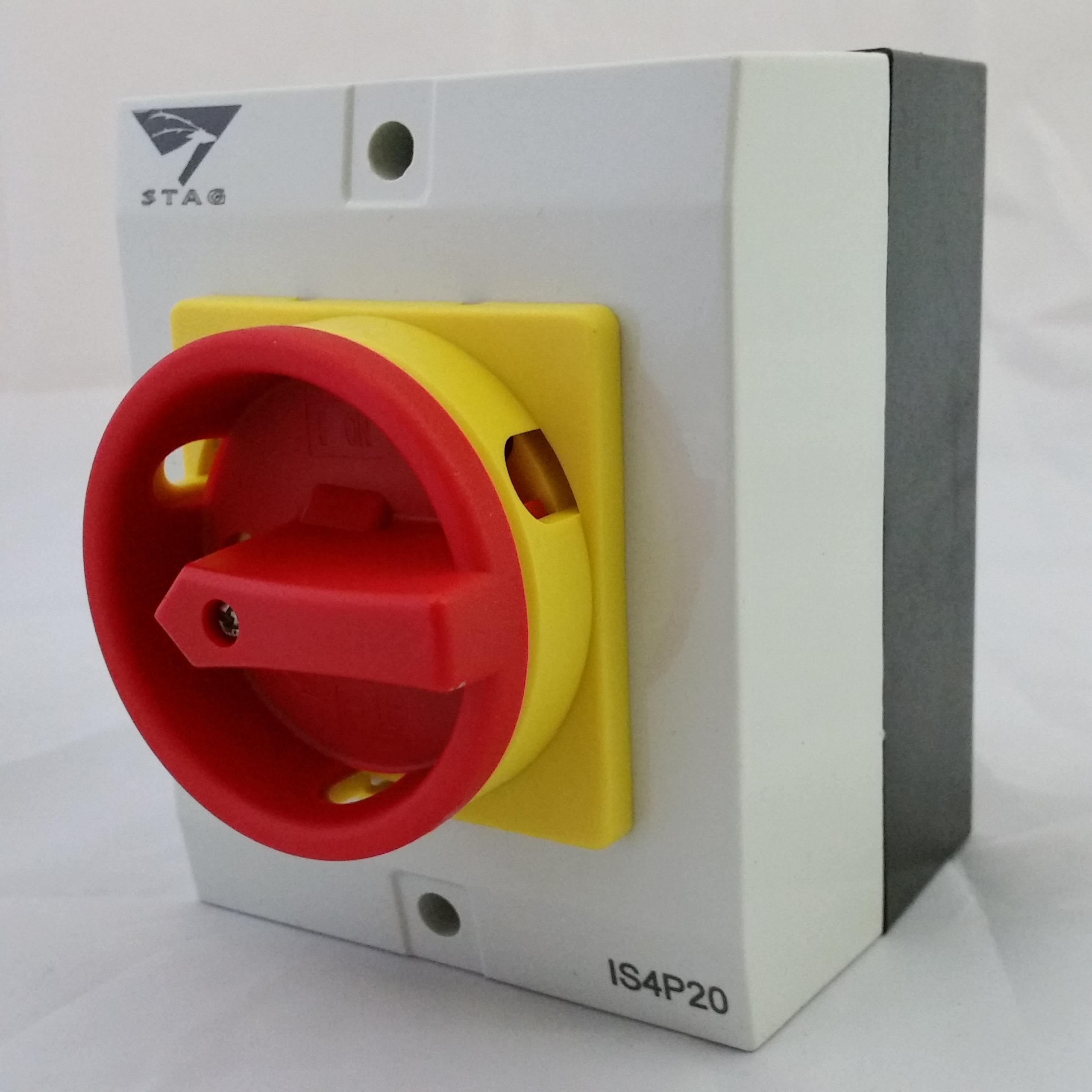 20amp Isolator Switch Disconnector 20amp Ip65 C W Pad