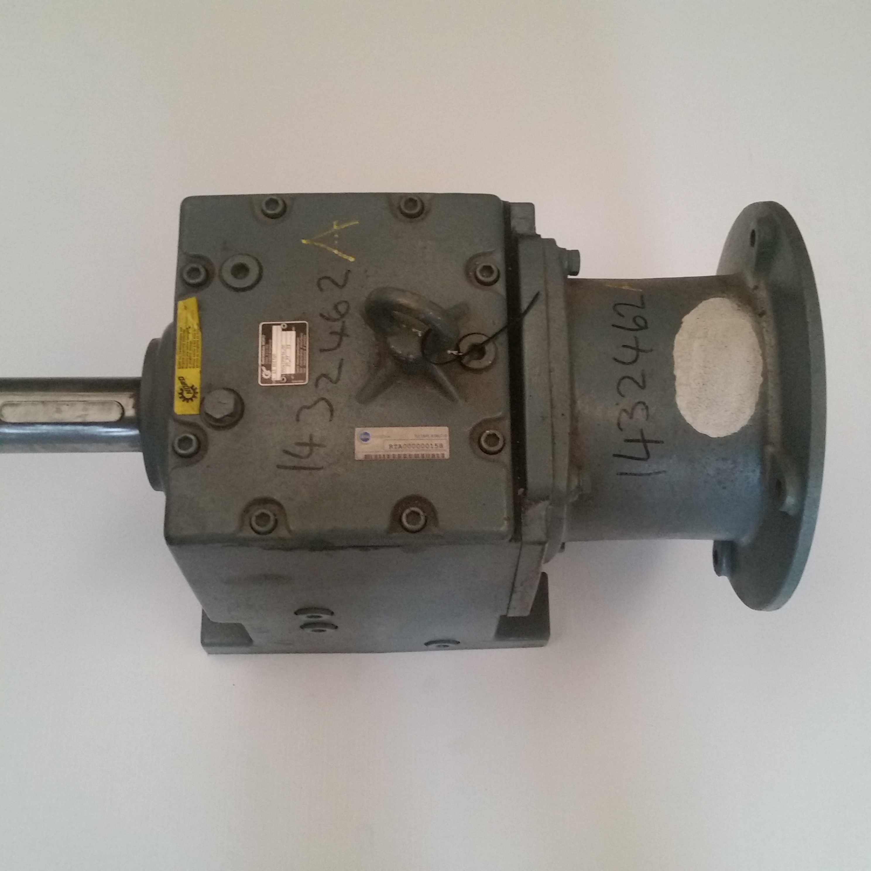 Nord Gearbox Sk63iec160 Ratio 20 77 1 65mm Inline Shaft