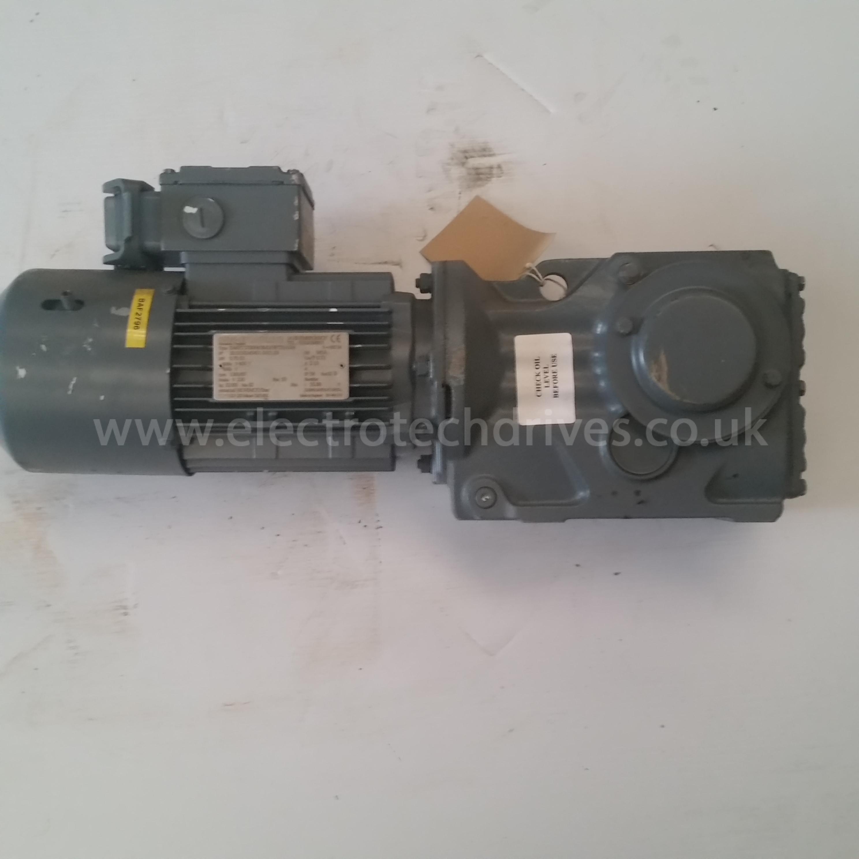 Sew Eurodrive Geared Motor Ka47 Tdt80n4 Bmg Hf Th Asb4