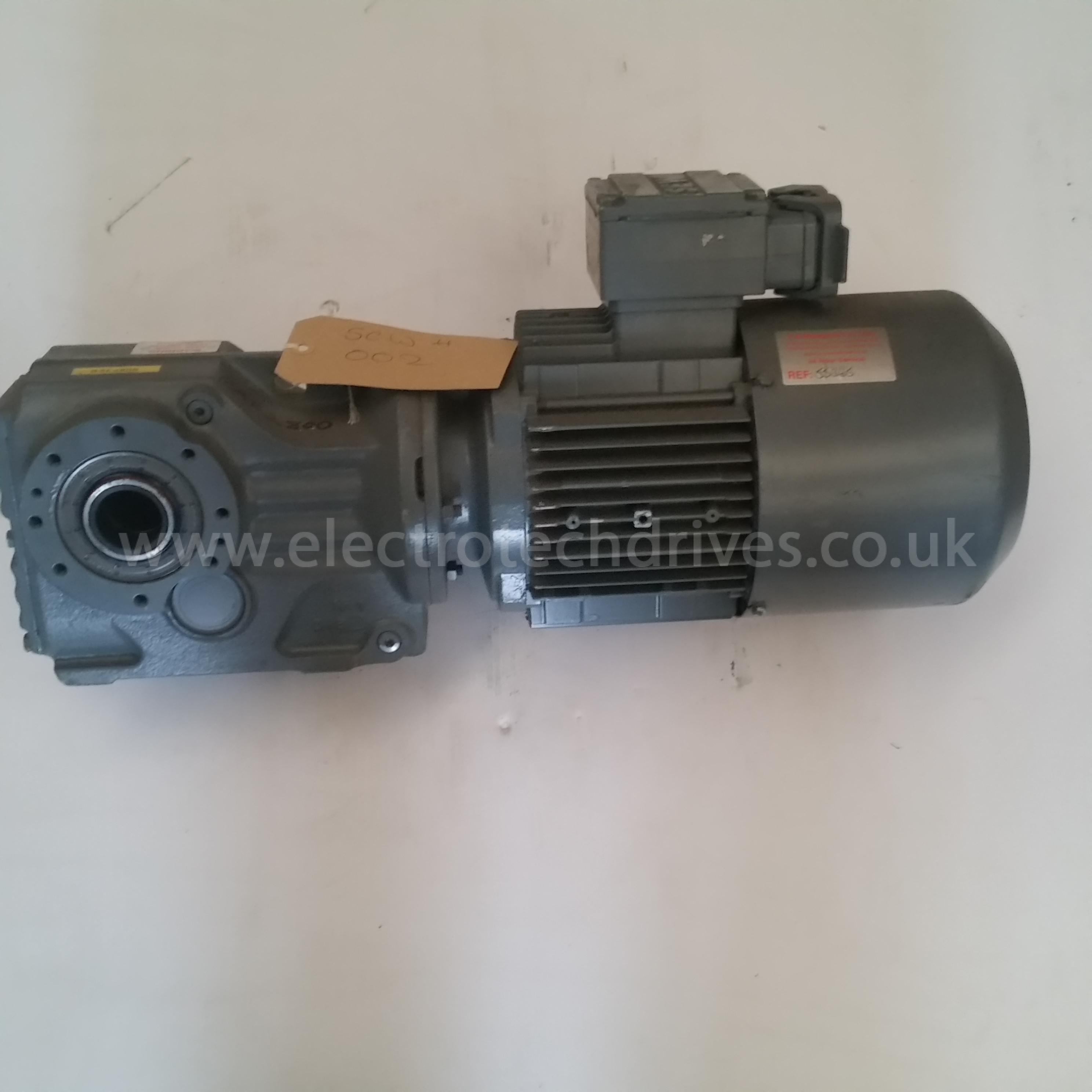 Sew Eurodrive Geared Motor Sa47 Tdt90l4 Bmg Hr Th Asb4