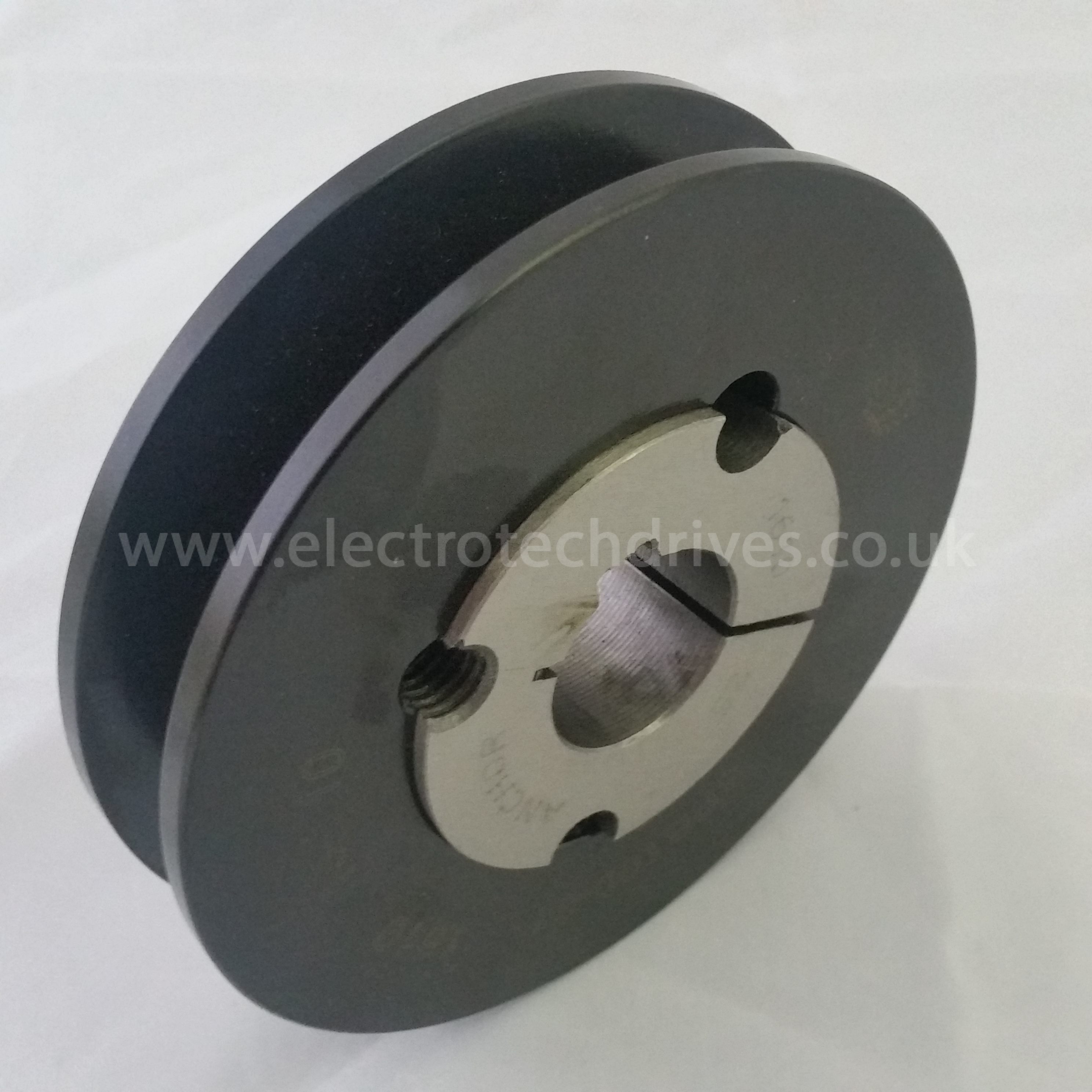 Choice Motor Credit >> SPB100X1 Single Pulley With 1610 Taper Lock Bush to Suit | Electrotech Drives